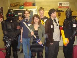 Team 2B, shortly before death