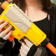 Another very attractive gun, the NERF Recon is a cut-down version of the Longshot resulting in a boxy clip-fed pistol. […]