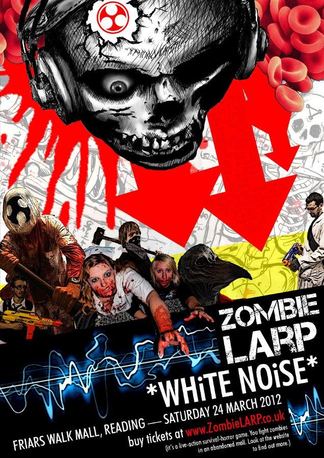Zombie LARP - White Noise